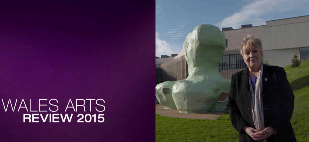 Wales Arts Review 2015 montage Shows